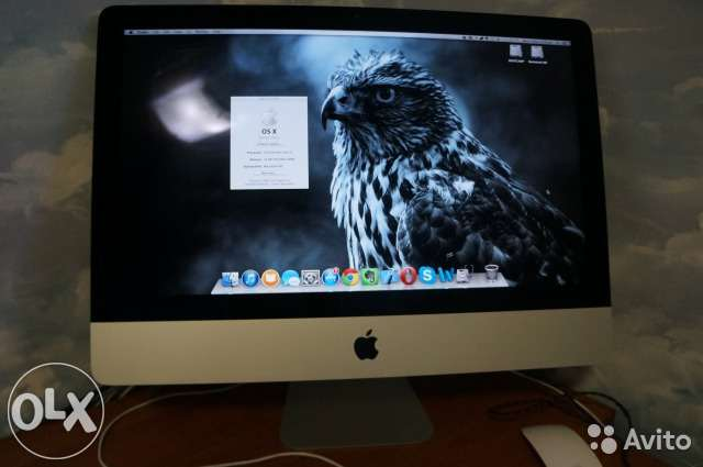 Продам Apple iMac 21.5 , Intel CORE i5